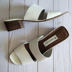 Etienne Aigner Vintage Leather Slides